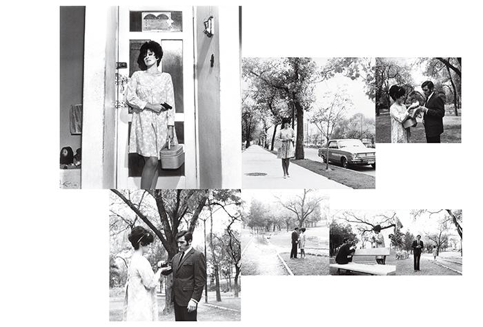 Antonio Caballero / Anel Norena y Aldo Monti / Fotonovela para la revista Capricho / Silver gelatin prints, ensemble de 7 photographies / c.a 1970