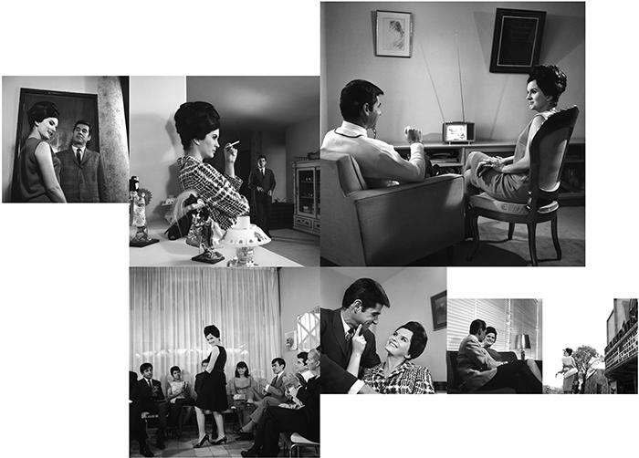 Antonio Caballero / Un marido vulgar / Fotonovela para la revista Rutas de pasion / Silver gelatin print, ensemble de 7 photographies / 1966