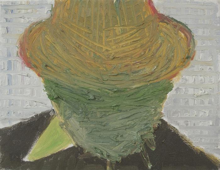 """Étienne Armandon / Étude, """"Le général 2"""" / Huile sur toile - Oil on canvas / 27 x 35 cm / 2017"""