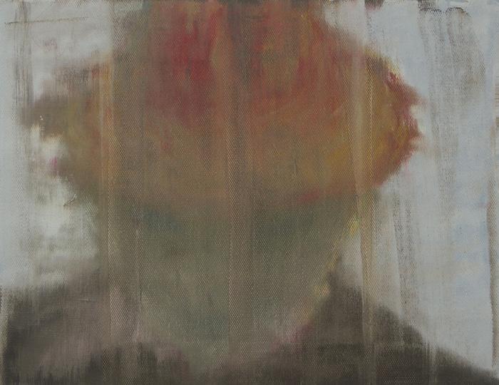 """Étienne Armandon / """"Etude, Le général 3"""" / 2017 / Huile sur toile / Oil on canvas / 27 x 35 cm"""