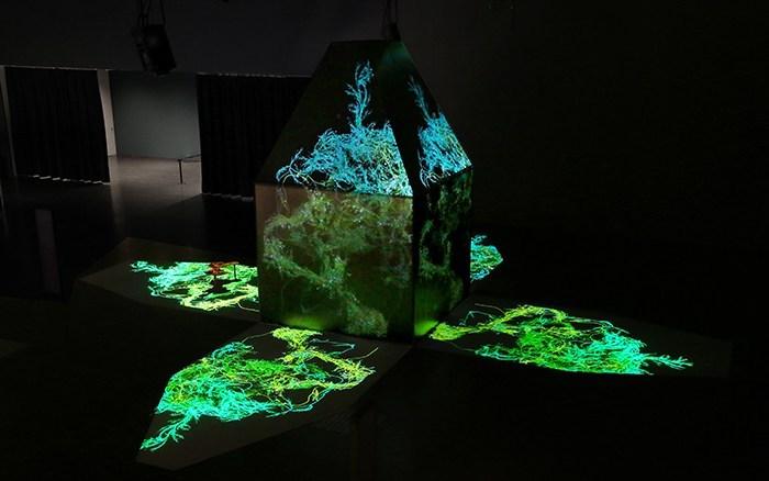 Odile Decq, The Black Pavilion – Design Miami/Basel Fair – Galerie Philippe Gravier © Odile Decq