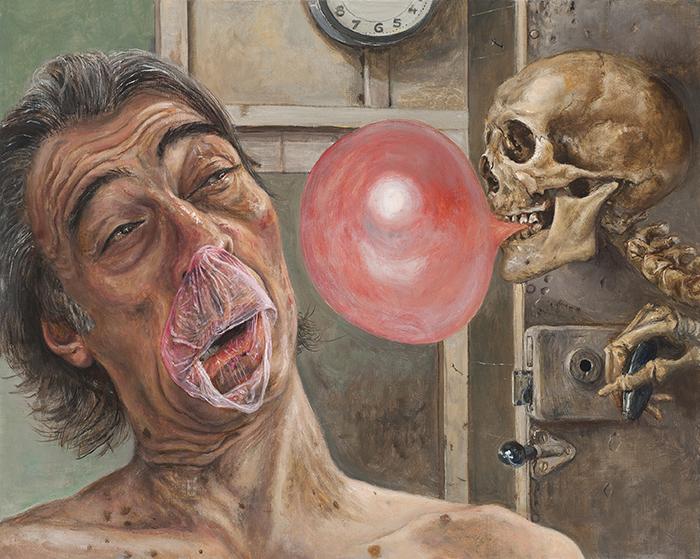 Marcos Carrasquer / Pop / Huile sur toile – Oil on canvas / 33 x 41 cm / 2019