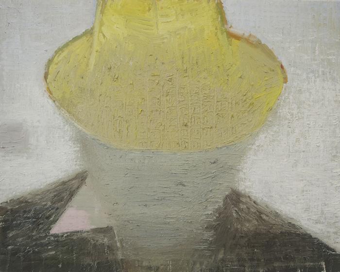 """Étienne Armandon / """"Le général"""" / 2017 / Huile sur toile / Oil on canvas / 73 x 92 cm"""