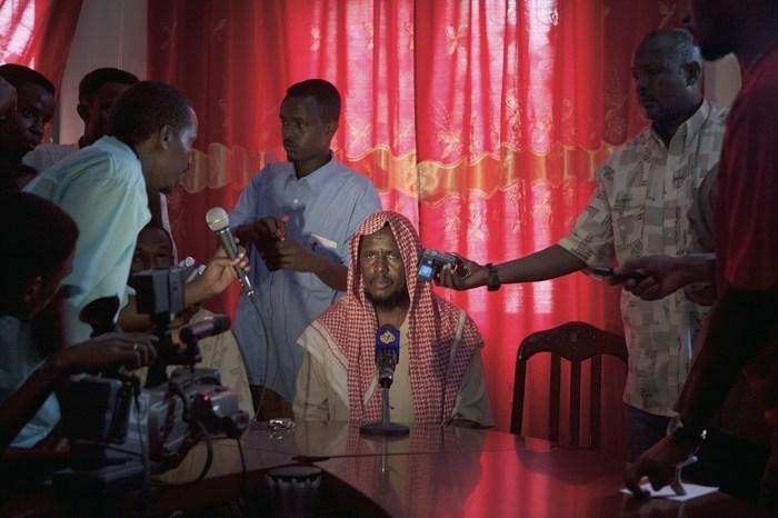 Matthias Bruggmann / MG_0621, Somalia / 2004 / Tirage pigmentaire sur papier archive / 100 x 150 cm / Edition of 3.
