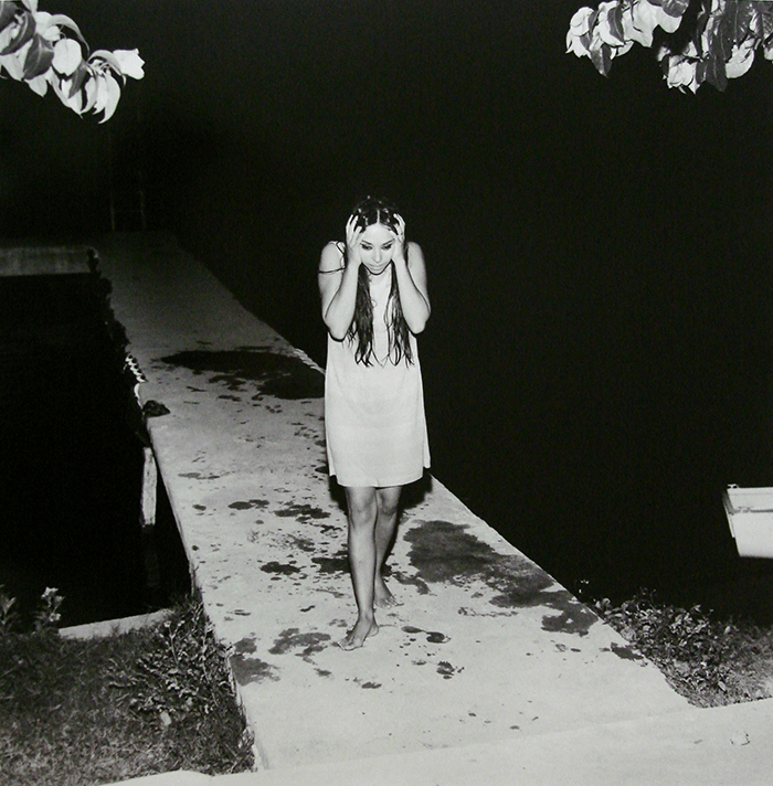 Antonio Caballero / Manela Soto, Fotonovela para la revista Capricho / Silver gelatin print / 48 x 48 cm / ca 1970