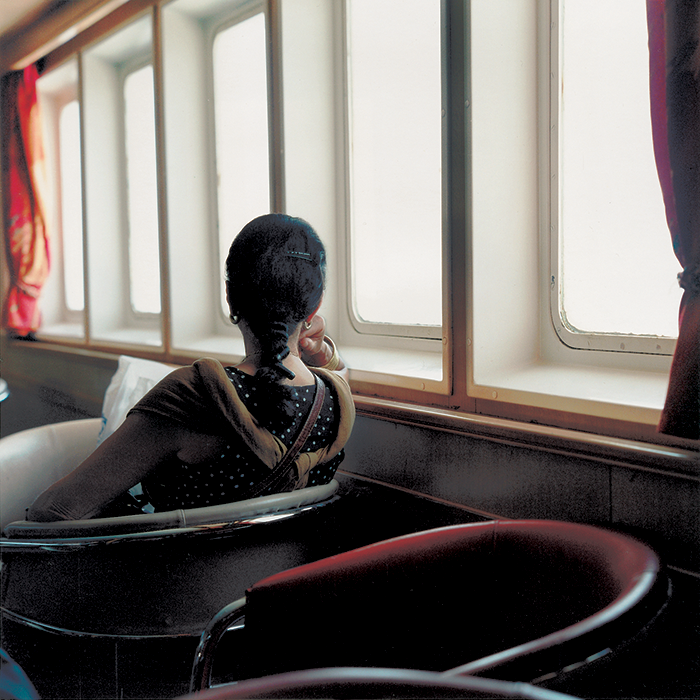 Yto Barrada / Salon de Première/ First class lounge / Tangier 2002 / C-print 2002 / 70 x 60 cm / Ed. of 5 only one size