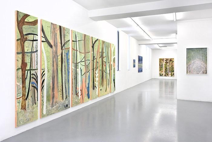 Vue de l'exposition « Éclats sauvages » à la Galerie Polaris, du 6 avril au 18 mai 2019 © Rebecca Fanuele