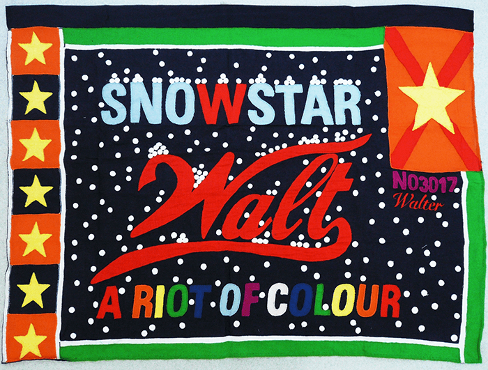 Walter Van Beirendonck / Snow star