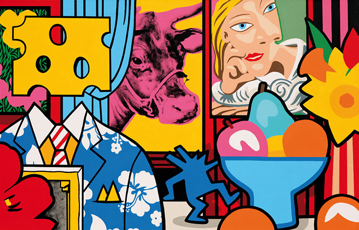 Speedy Graphito / Art Activity production / Acrylique sur toile – Acrylic on canvas / 90 x 140 cm / 2017