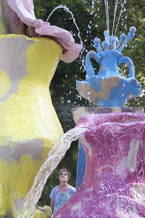 Clémence van Lunen / Aux sources des fontaines de Bacalan / Commande publique de Bordeaux-Métropole