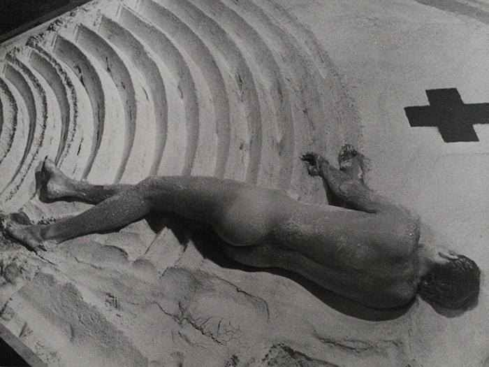 Nigel Rolfe/ sculpture in motion 1980 Cast / ICA Gallery London / Archive