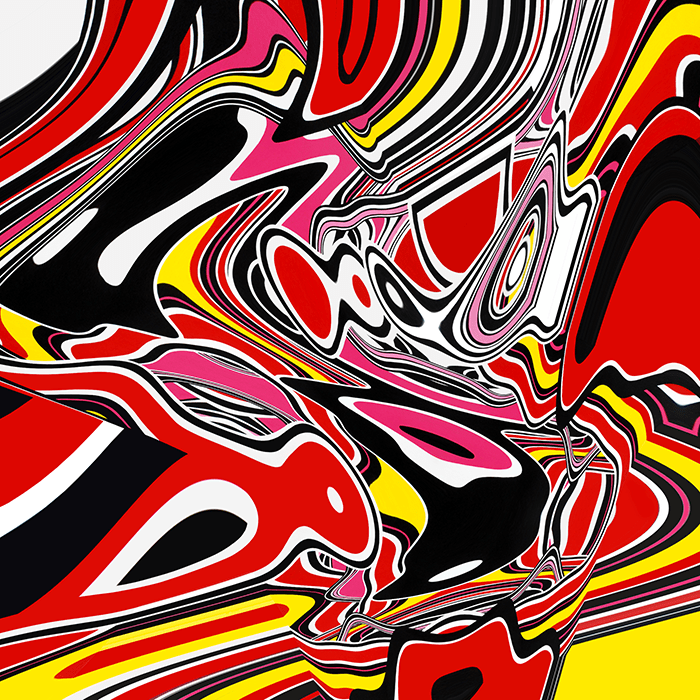 Speedy Graphito / Cosmic Tunning / Acrylique sur toile – Acrylic on canvas / 250 x 250 cm / 2011