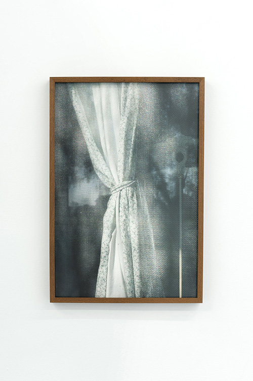 Louis Heilbronn / Curtain II / Ink jet print / Ed. of 3 / 60 x 40 cm / 2017