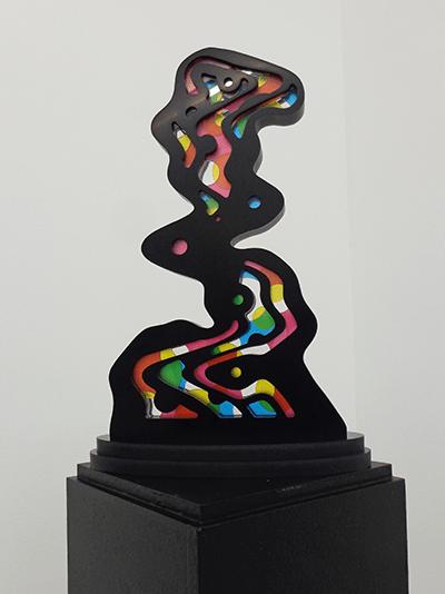 Speedy Graphito / The Way / Corian et plexiglass / 33 x 22 x 10 cm / Edition of 8 – Disponible à la galerie