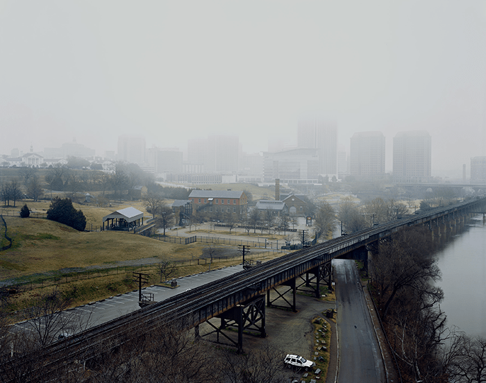 Louis Heilbronn / Downtown Richmond, 2012 / Digital C-print 2012 / 73 x 90 cm / Ed. of 5