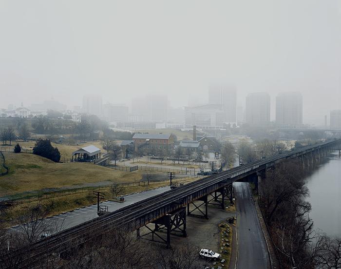 Louis Heilbronn / Downtown Richmond, 2012 / Digital C-print 2012 / 73 x 90 cm / Ed. of 5