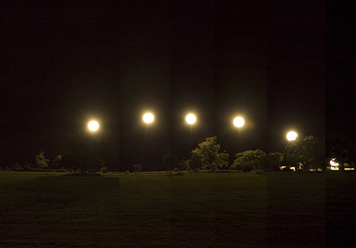 Simon Faithfull / Fake Moon / A three hour intervention in the night sky / 2008