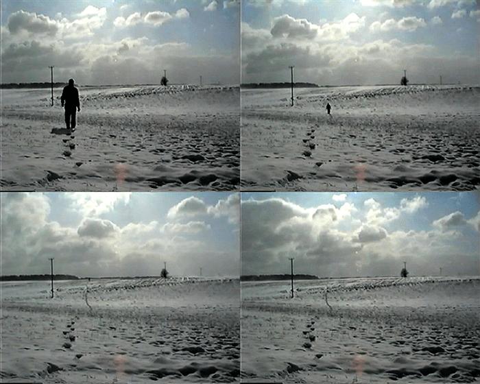 Simon Faithfull / Going Nowhere / 2011 6min, HD single channel video / video still / https://vimeo.com/14927973