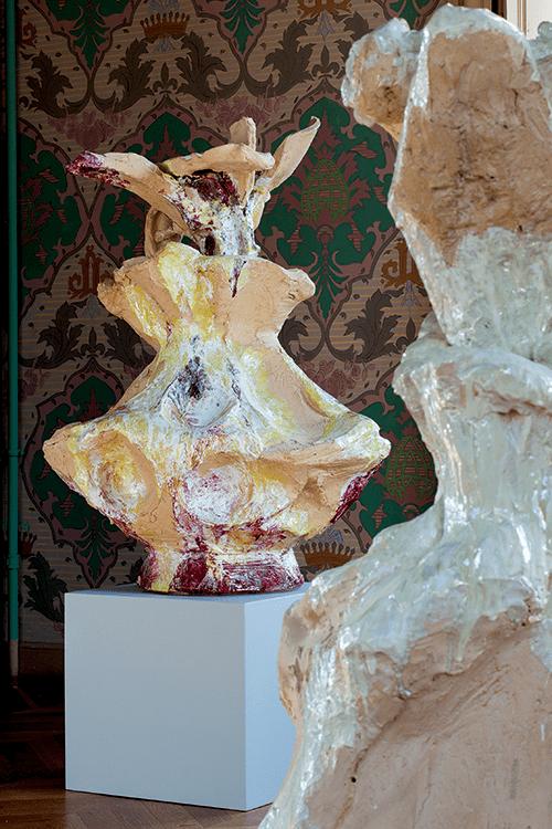 Clémence van Lunen / Vue d'exposition / Domaine de Kerguehénnec – Mars – Mai 2015 / ©Stéphane Cuisset