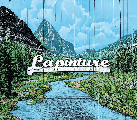 Speedy Graphito / Lapinture / Acrylique sur toile / 140 x 160 cm / 2012