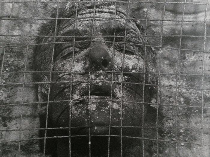 Nigel Rolfe / Performance / 1981 / Grid / Dublin / Archive