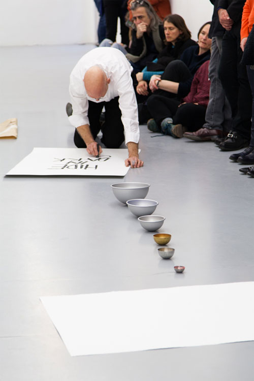Performance « Never Learn » à la Galerie Polaris le 25 février 2017 © Pharoah Marsan