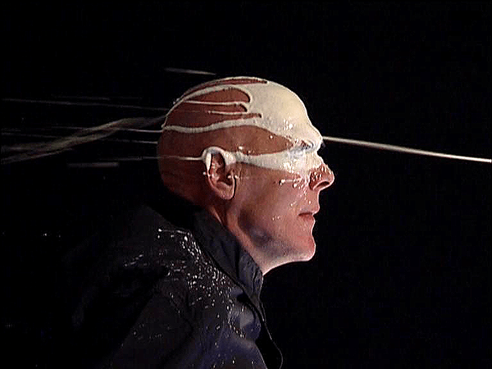 Nigel Rolfe / Milk of Human Kindness / Performance with video / 2008