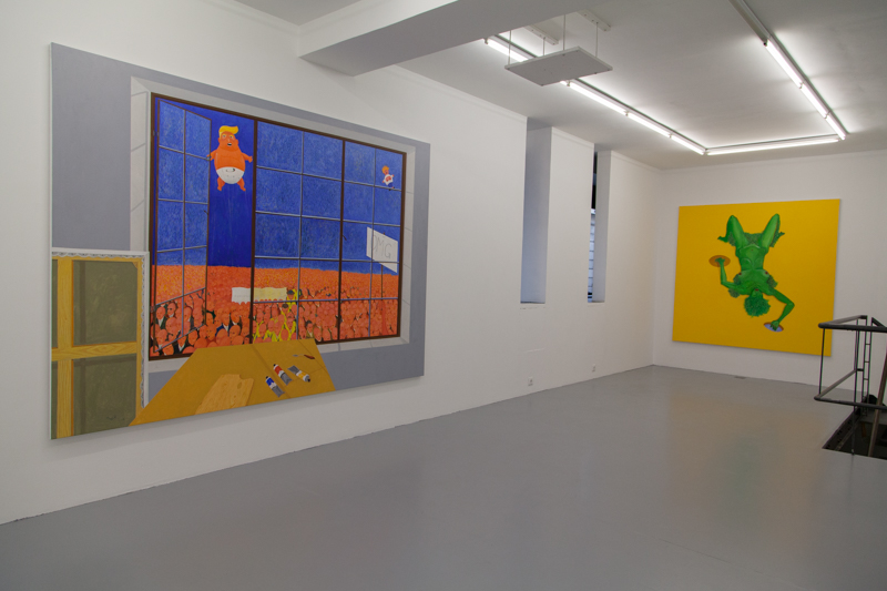 """Exhibition view """"Mubvakure – The one who comes from afar"""" / Galerie Polaris - Paris / October 12 – November 17, 2019"""