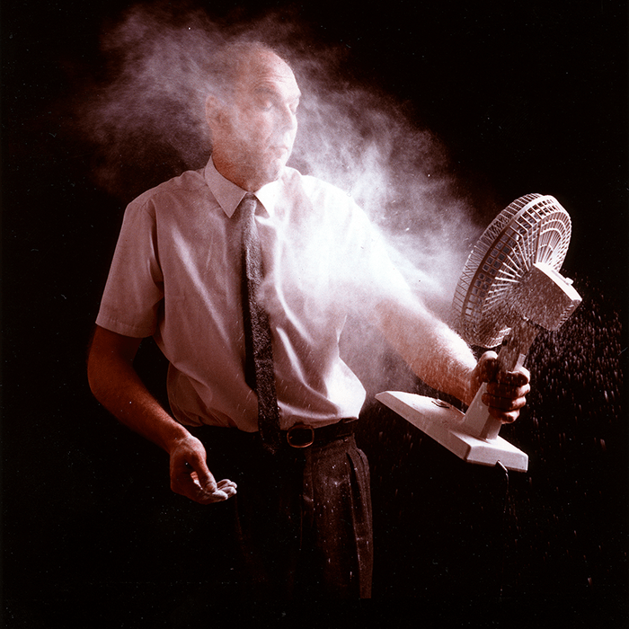 Nigel Rolfe / Time of Night and Fog / C print / 1998 / 120cm x 140cm / ed of 3