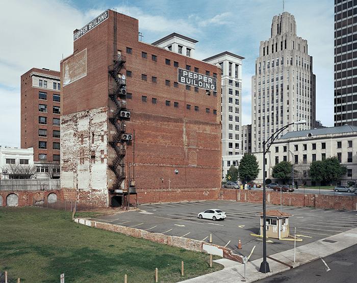 Louis Heilbronn / Pepper Building / Digital C-print 2012 / 72 x 88 cm / Edition of 5, unique size
