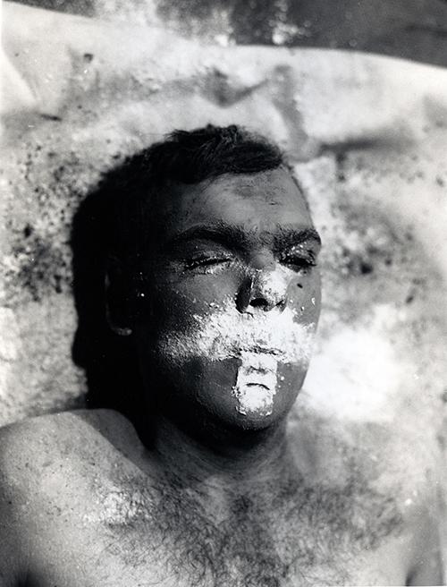 Nigel Rolfe / Performance / 1978 / Cross / Co Meath Ireland / Archive