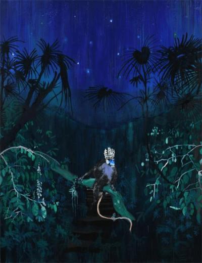 Vanessa Fanuele / Sun / Huile sur toile – Oil on canvas / 195 x 150 cm / 2013