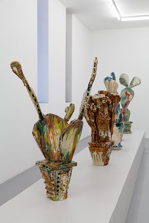 Vue de l'exposition « Les Succulentes », Galerie Polaris, du 26 janvier au 23 février 2019 © Pharoah Marsan