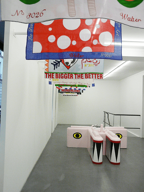 Exhibition view at Galerie Polaris