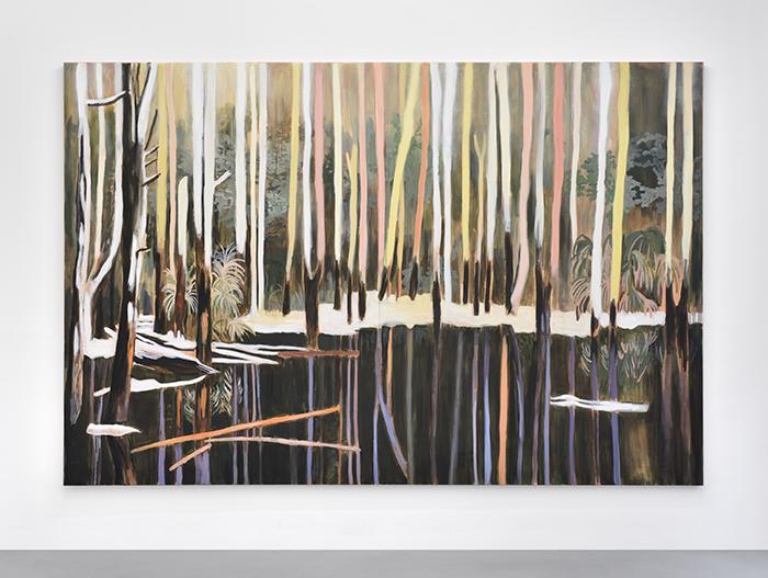 Vanessa Fanuele / Perdus, pourtant / Huile sur toile – Oil on canvas / 200 x 300 cm / 2016