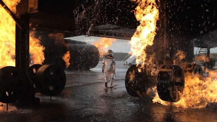 Simon Faithfull / EZY1899:Reenactmen for a Future Scenario / HD video, 12min, 2012