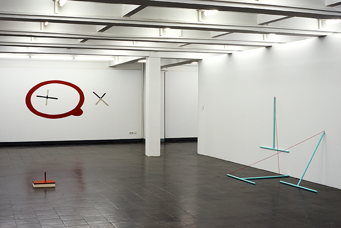 """Exhibition view """"Betrachtung"""" / Kunsthalle Recklinghausen / Allemagne"""