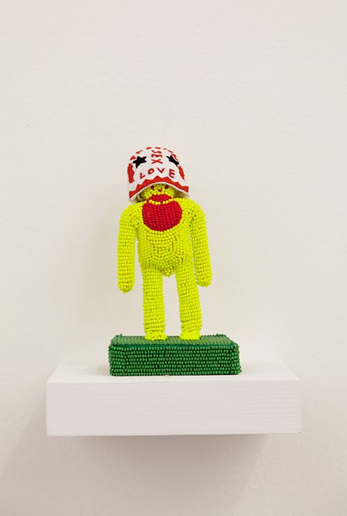 Walter Van Beirendonck / N3007 Stars in my eyes / Unique piece - Embroideries and beadings / 13 x 7 x 7 cm / 2020