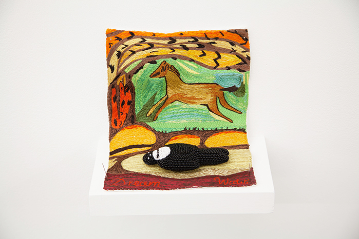 Walter Van Beirendonck / N3003 Dream / Unique piece - Embroideries and beadings / 15 x 16 x 10 cm / 2020