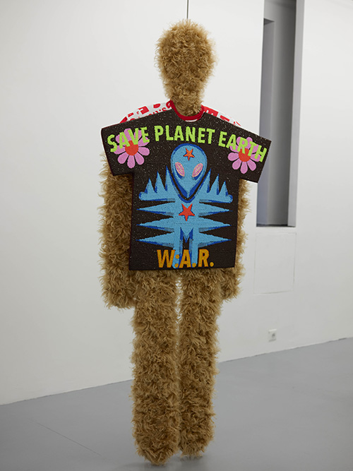 Walter Van Beirendonck / Exhibition view, W:A.R. = Walter About Rights / Galerie Polaris / 21.01.2020 > 22.02.2020