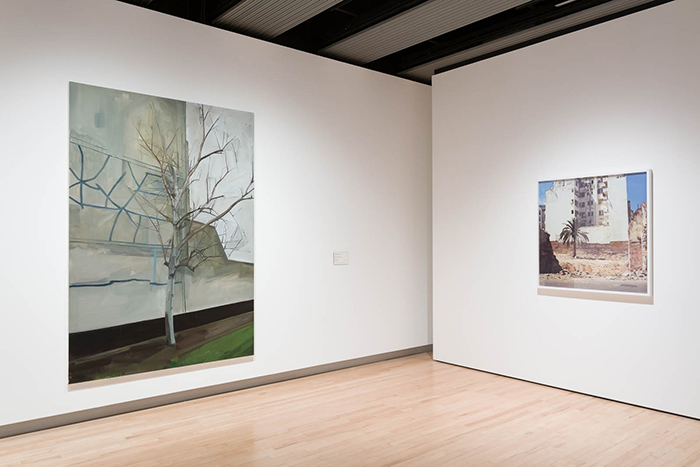 "Exhibition view ""Among the trees"", Hayward Gallery, London, 2020 / Photo © Mark Blower"