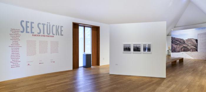 Exhibition view : «  Sea Pieces « au Museum Kunst der Westküste , curator : Harald F. Theiss , ©MKdW, photo: Lukas Spörl.