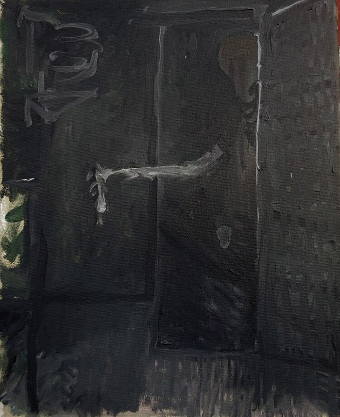 Bart Baele / The legacy / Huile sur toile - Oil on canvas / 40 x 29 cm / 2018