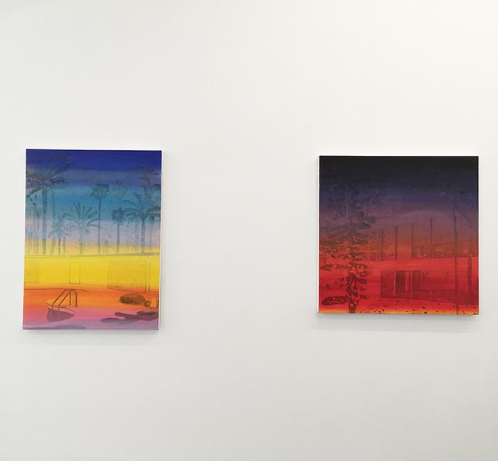 Vanessa Fanuele / Série Ultra, Huile sur toile - Oil on Canvas / 2020