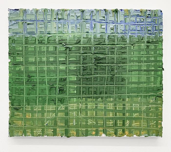 Étienne Armandon / Paysage / Huile sur toile - Oil on canvas / 38,5 x 46 cm / 2020