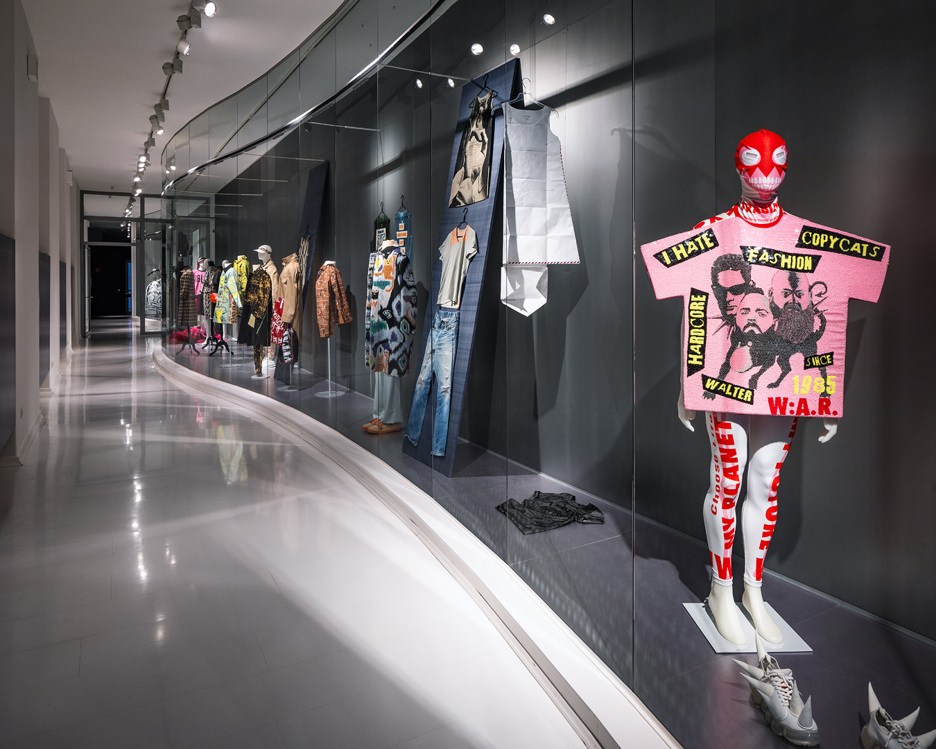 "Walter Van Beirendonck / Exhibition view ""The Language of Fashion"" / MKG Hamburg / Germany / Opening August 14 / Photo : Henning Rogge"