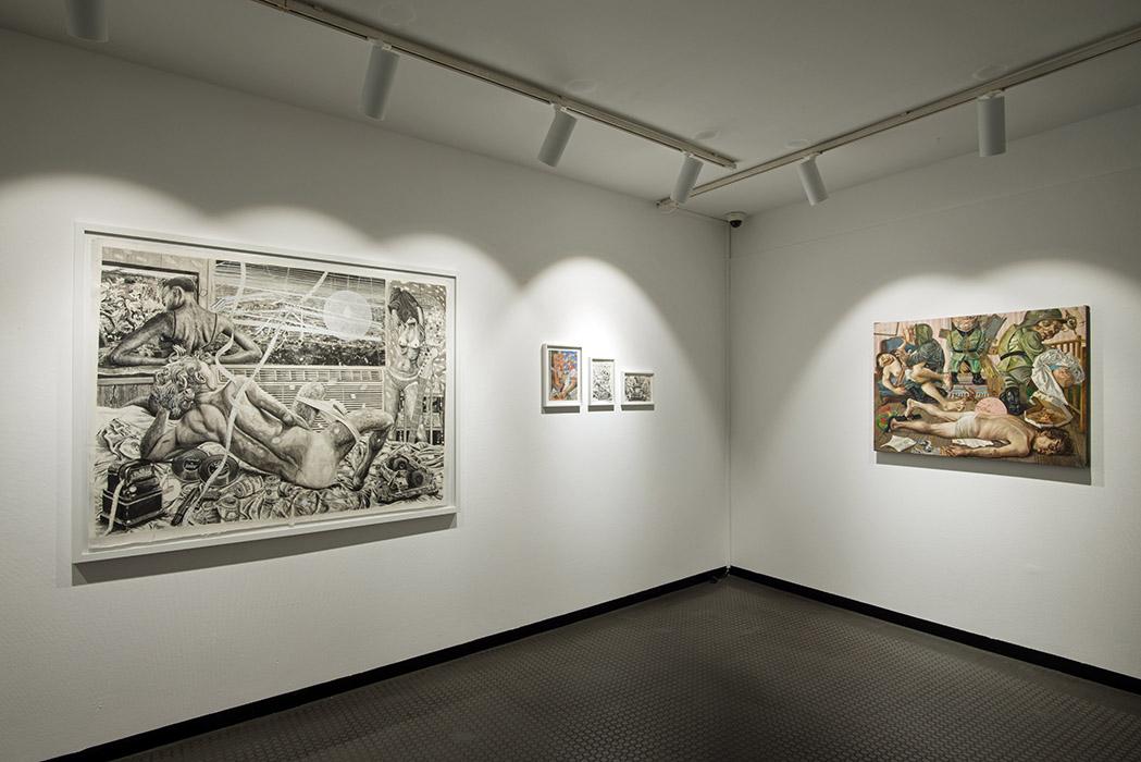 Vue exposition «  Si c'est pas maintenant c'est quand ? «  Centre d'Art André Malraux Colmar 2020