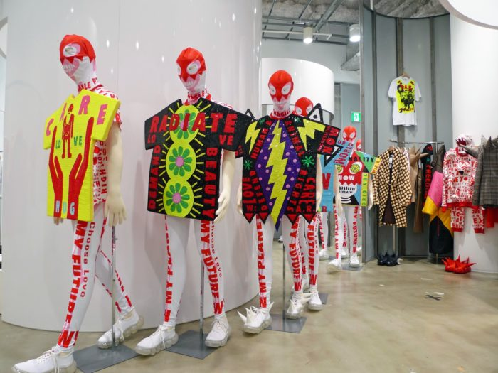 Walter Van Beirendonck / Exhibition view at the TRADING MUSEUM COMME DES GARÇONS in Tokyo / October 2020